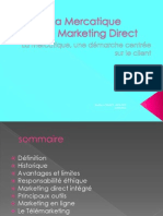 La Mercatique Et Le Marketing Direct