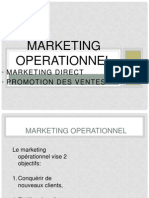 Marketing Direct et Opérationnel