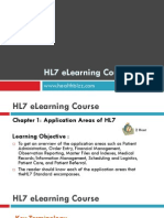 Module 1- Application Areas of HL7