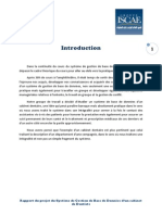 Projet base de données ( CABINET DENTAIRE )
