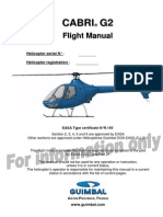 Cabri G2 Flight Manual - For Information Only