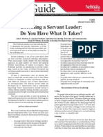 Becoming Aservant Leader