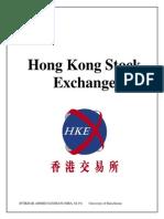 Hongkong Stock Exchange Assignemnt