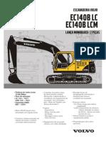 Escavadeira VolvoEC140B Lat