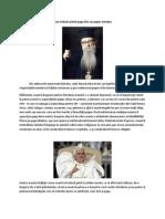 Cum trebuie primit papa într-un popor ortodox
