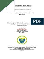 Internship Training Report