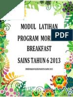 Cover Program Morning Breakfast