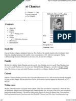 Subhadra Kumari Chauhan - Biography