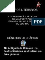 Generros Literarios Slides
