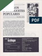 """""""Os xogos e os xoguetes populares"""". Jurjo Torres e José Paz. Temas de O Ensino. Nº 1 (1981).pdf"""