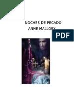 MALLORY Anne -Noches de Pecado