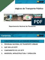 Dnp Sistemas Estrategicos de Transporte Publico