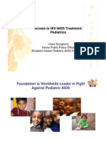 Access to HIV-AIDS Treatment