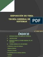 Expo Teoría general de sistemas