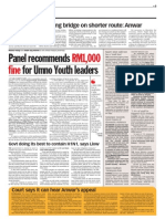 Thesun 2009-07-01 Page05 Panel Recommends Rm1000 Fine for Umno Youth Leaders