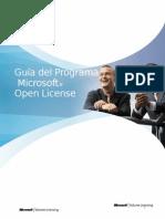 Guia Del Programa Microsoft Open License