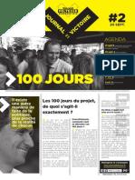 20 septembre 2013 - Le Journal de La Victoire #2
