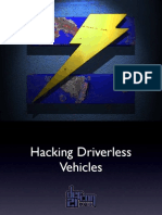 DEF CON 21 - Hacking Driverless Vehicles