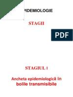 Stagiul I - Ancheta Epidemiologica