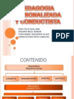 Pedagogia Personalizada y Pedagogia Conductista1