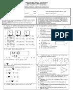 Prueba Formativa de Matematica Pac 2