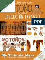 Carteles de Otoño para Educación Infantil