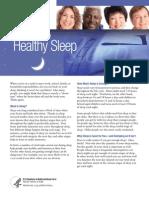 Healthy Sleep Fs