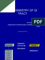 Biochemistry of Gi Tract