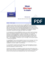 Islami Fiqh Nikah Marriage in Islam( English)