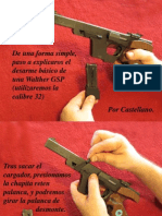 Walther GSP Desarme Paso a Paso (Incluye Fotos)