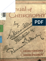 Allen Manual of Cheirosophy Complete MUST DOWNLOAD