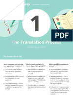 01 the Translation Process Lesson
