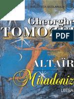 Tomozei Gheorghe - Miradoniz (Cartea)