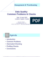 ETIS09 - Data Quality - Common Problems & Checks - Presentation