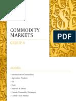 Commodity Markets