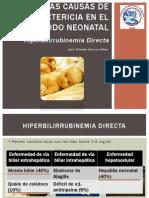 Hiperbilirrubinemia Directa Neonatal