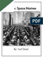 Space Marine Codex - V.2