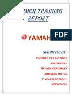 Yamaha Report