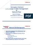 Open World 04 - Information Delivery - The Change in Data Management at Network Rail - Presentation