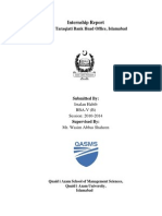 ZTBL Internship Report