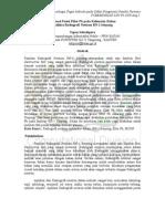 Optimasi Posisi Filter Pb Pada Kolimator Luar Fasilitas Radiographi RN