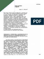 Oliveira. Teoria política e politicas sociais