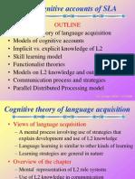 Cognitive Accounts of Second Language Acquisition