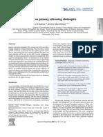 Update on primary sclerosing cholangitis