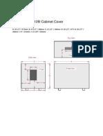 Marshall MG412B Cabinet Cover