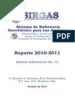Boletin Sirgas No 16