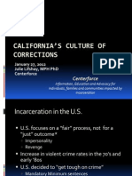 California Culture of Corrections