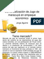 Jugo de Maracuya