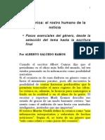 La Cronica El Rostro Humano de La Noticia