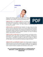 Fundamentofilosofias de Marketing
